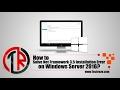 How to Solve Net Framework Installation Error in Windows Server 2016 PowerShell