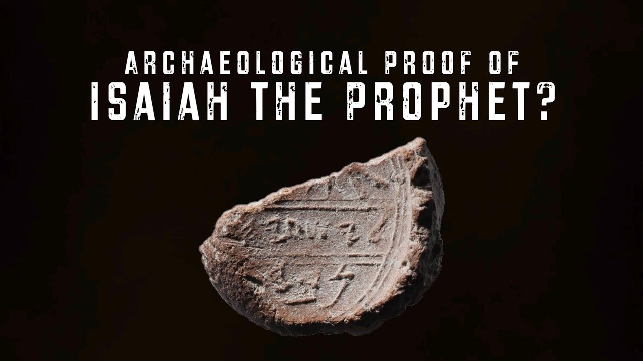 In find of biblical proportions, seal of Prophet Isaiah said found