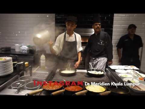 Dinner di Le Meridian Kuala Lumpur.