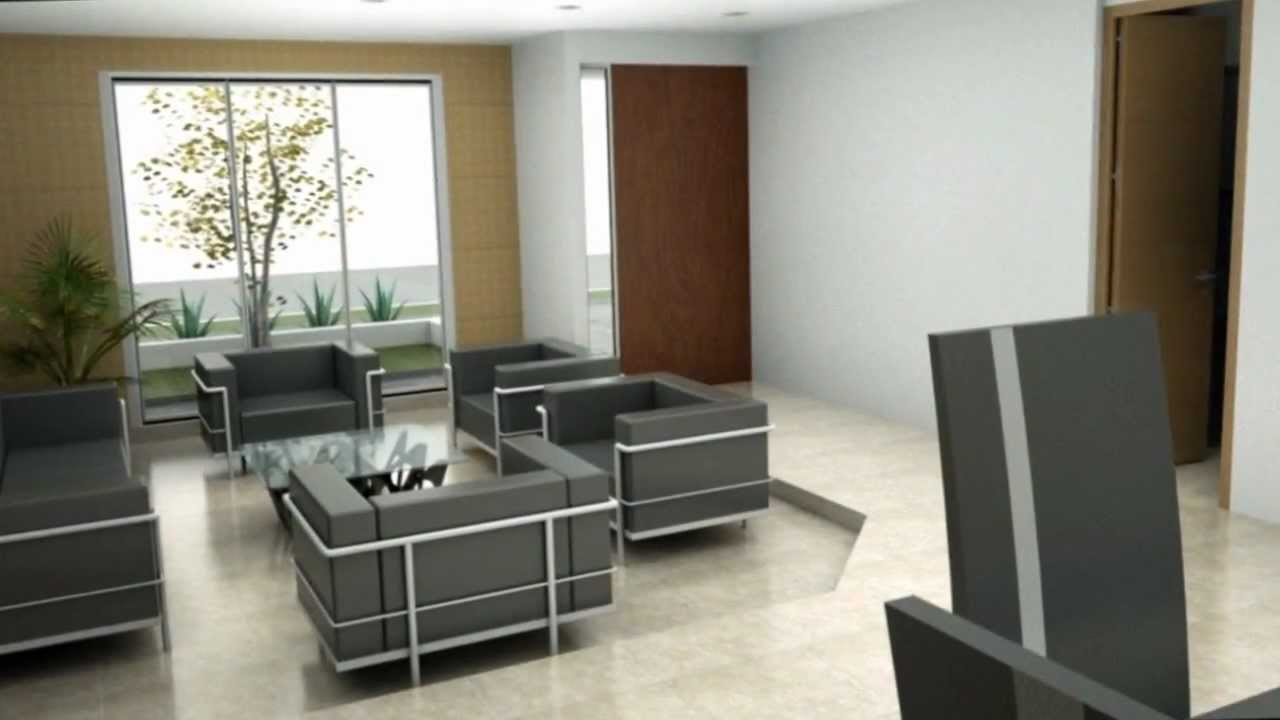 Casa moderna minimalista dise o de interiores youtube for Case minimaliste