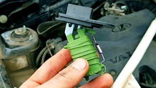Почему перегорает резистор печки ВАЗ 2110 (полезный совет)