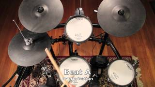 Drum Lessons For Beginners - Beat A