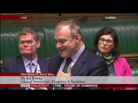 Ed Davey introduces Homelessness (End of Life Care) Bill