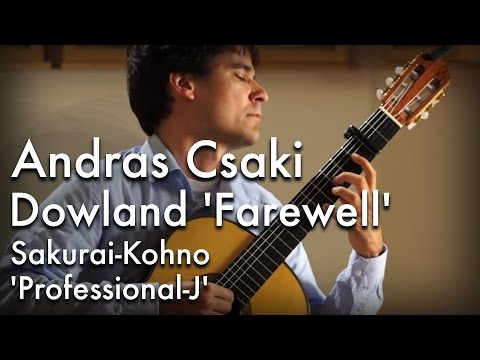 Dowland 'Farewell' played by Andras Csaki