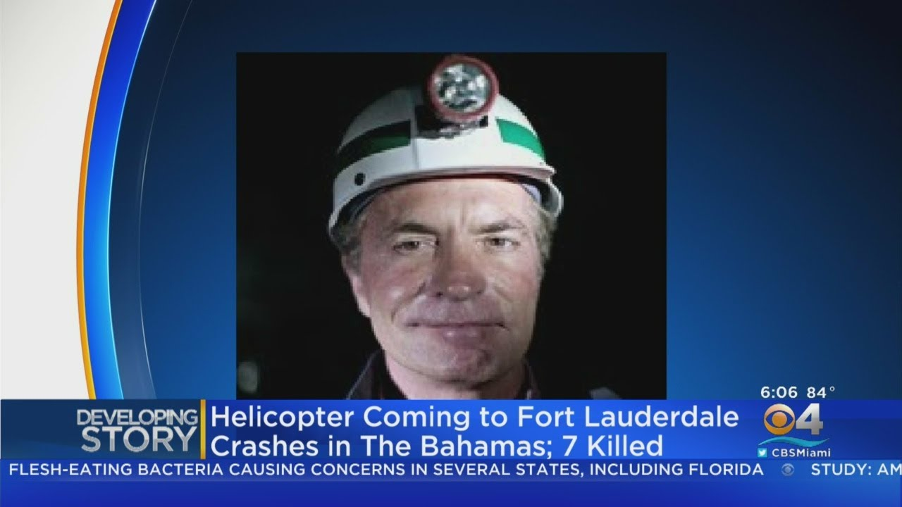 American Billionaire Among 7 People Killed In Bahamas Helicopter Crash