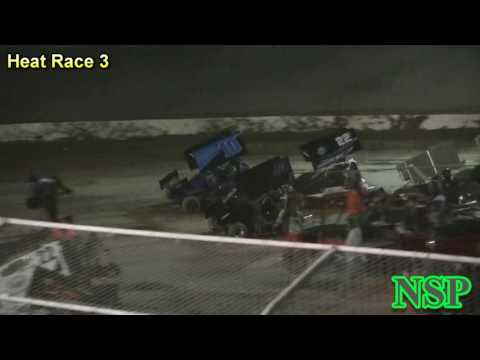 August 19, 2016 600 Mini Sprints Heat Races 1, 2, 3, 4 & B-Main Deming Speedway