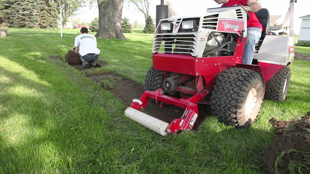 Ventrac Sod Cutter Ec240 Youtube