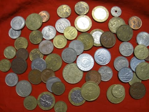 My collection of world coins  Numismatist  numismatics old coin