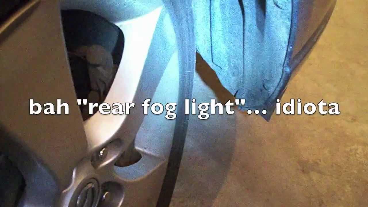 hight resolution of fog light install