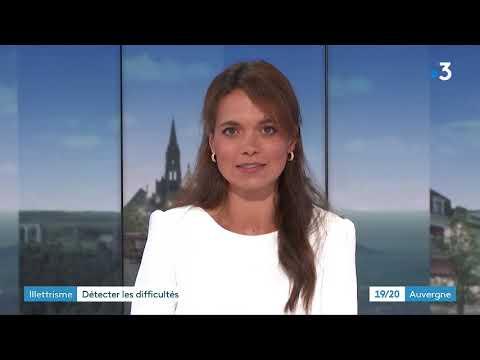 Journal france 3 Auvergne 15 septembre 2021 Focus illettrisme