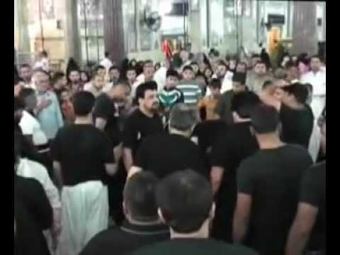 Pursa Karbala Ramzaan 2012-Day 1-Matamdari at Haram Imam Hussain(as) Travel Video