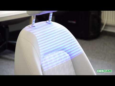 DESCAM RoboScanner Autositz / Car seat