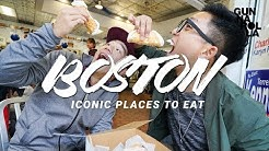 Boston Travel Guide: Top Foods To Eat... Oysters, Lobster Rolls & Cannoli!