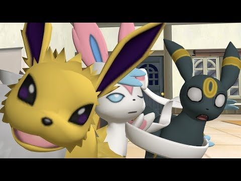 Having fun with 3D Pokemon models. Yolo!!