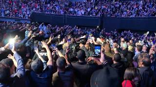 Earn your way to the front Jon jones walk out ufc 232