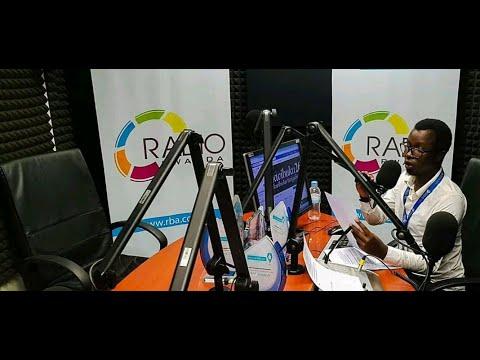 Reba uburyo Ismaël Mwanafunzi na Muhire Munana basoma amakuru kuri Radio Rwanda