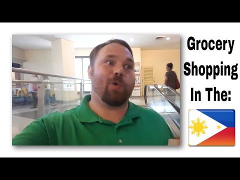 Grocery shopping in the Philippines. What you might notice as a westerner! - My #Kwento