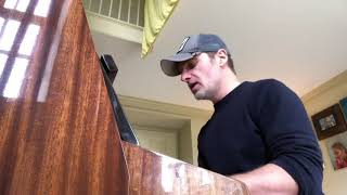 Andrew Lincoln singing & playing piano for Danai Gurira