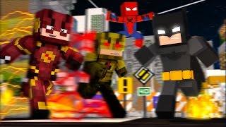O MELHOR MOD DE HERÓIS - SUPER HEROES FISK - Minecraft Mods//Frango
