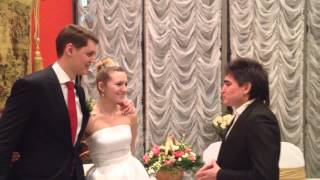 Видео отзыв  Ведущий   Владимир Ботов Свадьба Татьяны и Кирилла 17 09 2013г