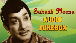 Sabash Meena (1958) All Songs Jukebox | Sivaji Ganesan, Malini | Best Old Tamil Songs