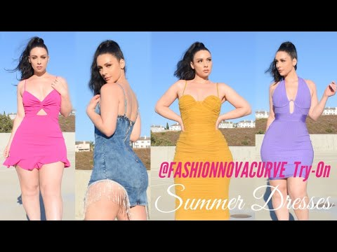 FABULOUS SUMMER DRESSES FEAT. FASHION NOVA CURVE