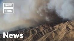 50,000 Evacuated Over Tick Fire in Santa Clarita, California | NowThis