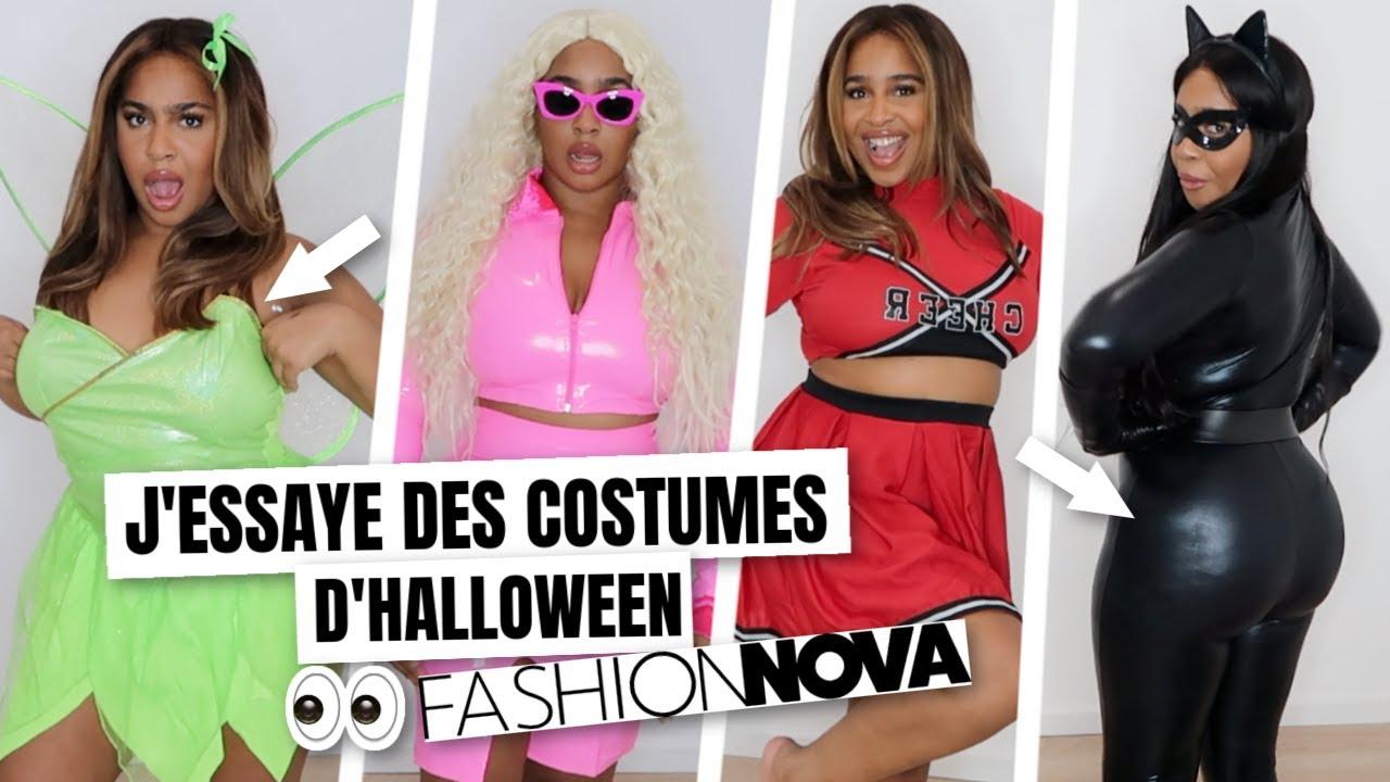 @YanissaXoxo: FASHIONNOVA : CE QUE J'AI COMMANDÉ VS CE QUE J'AI REÇU | Costumes d'Halloween 😭😂