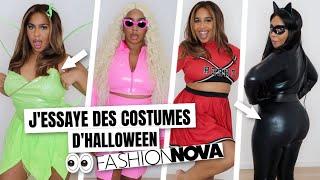FASHIONNOVA : CE QUE J'AI COMMANDÉ VS CE QUE J'AI REÇU | Costumes d'Halloween 😭😂