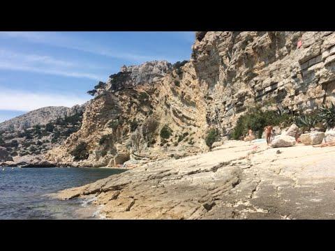 Calanque De Sugiton, Plage Naturiste Des Pierres Tombées By Ourakcha