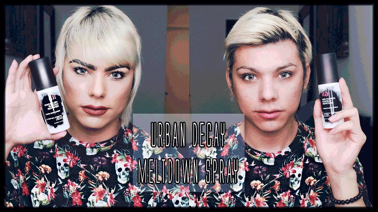 ผลการค้นหารูปภาพสำหรับ urban decay meltdown makeup remover dissolving spray