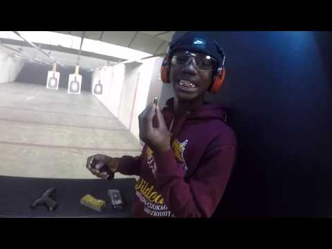 *MUST WATCH ///A Day At The Shooting Range!!!!!Too Lit