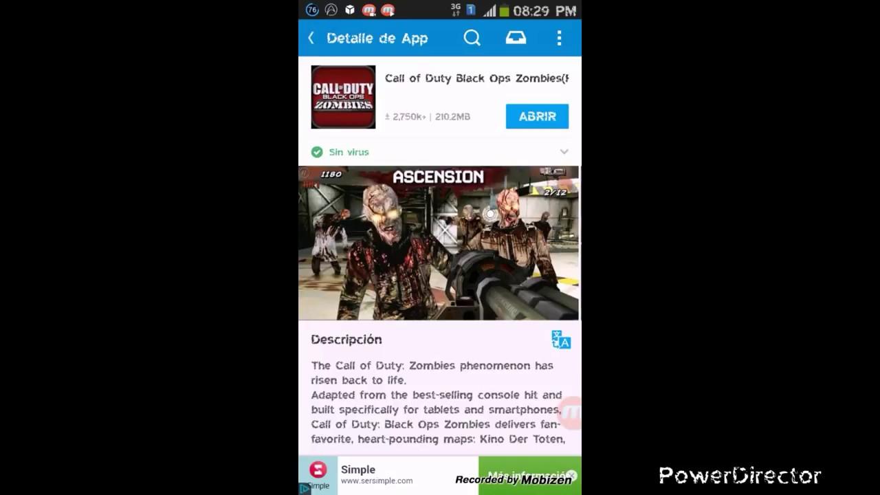 descargar call of duty black ops 2 para android