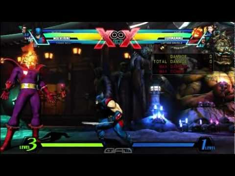 UMvC3:Combo How-to's Series Wolverine EP.6