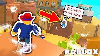 HACKING PRANK! (ROBLOX PRANK) ROBLOX WILD REVOLVERS