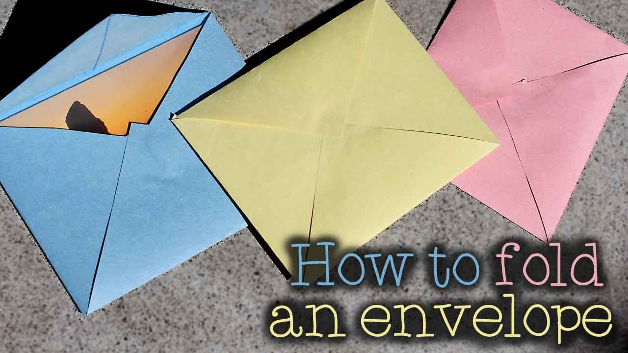 How Do I Make An Envelope Out Of Paper 28 Images How