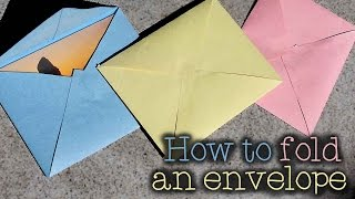 How to Make an Envelope (Any Size!) ✉️