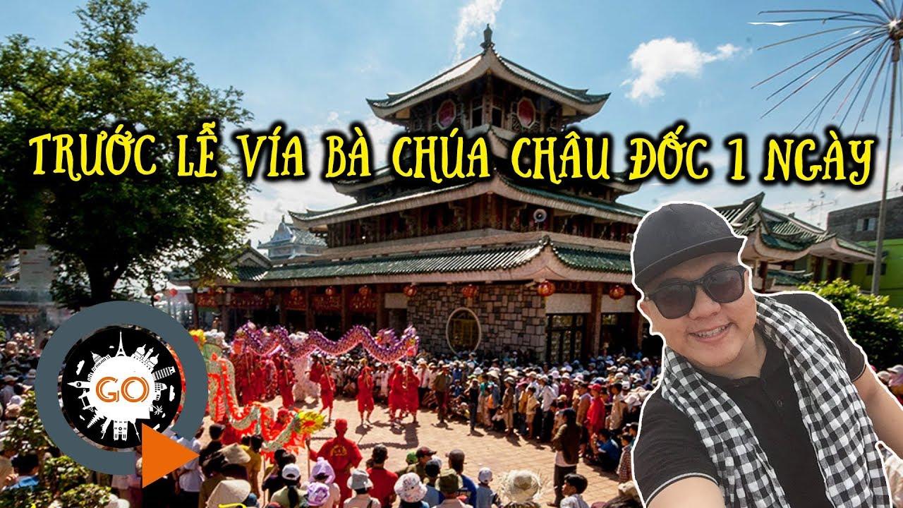 NÚI SAM | Trước lễ Vía Bà Chúa Xứ Châu Đốc 1 ngày – Lời khấn LINH ỨNG quay chân dung bà | Quang Chau