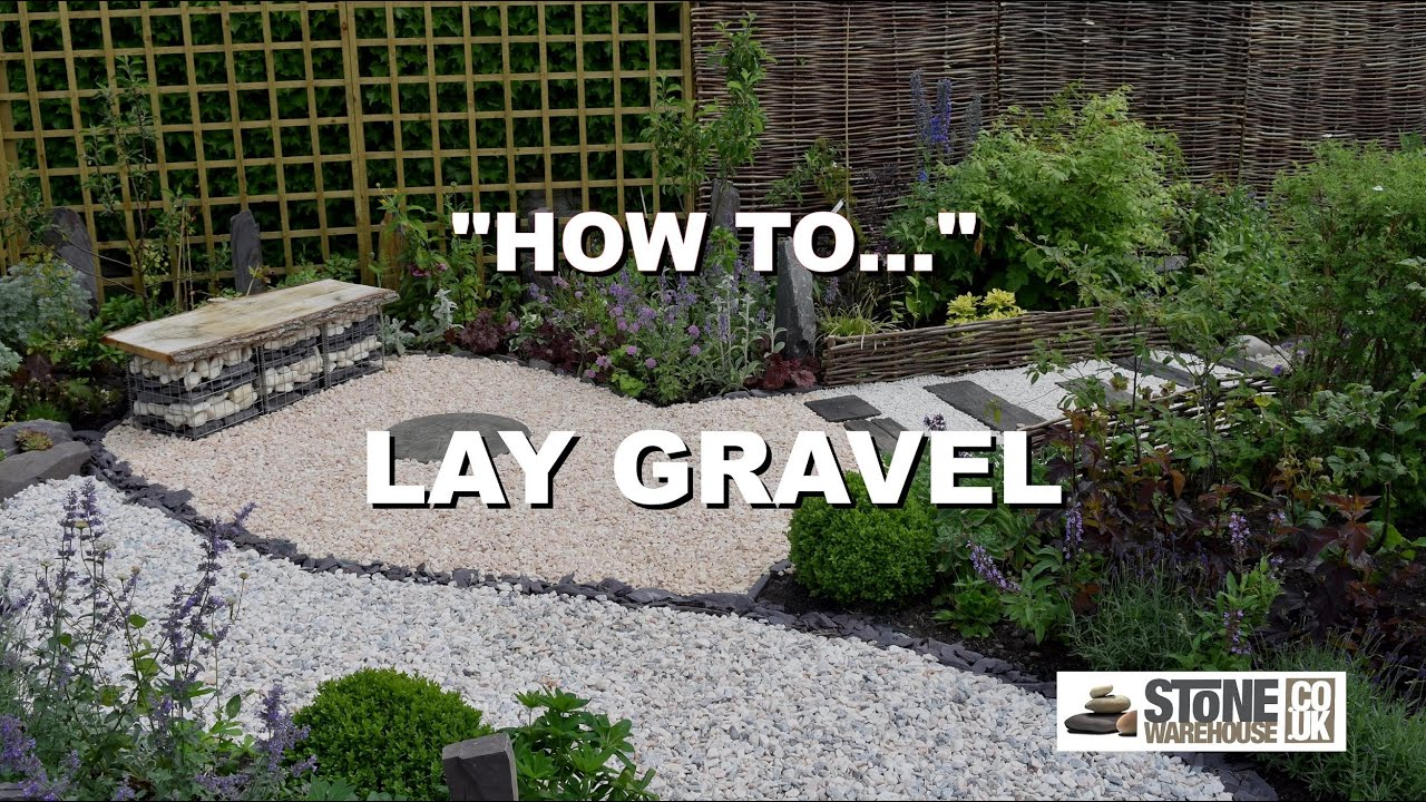 How To Lay Your Gravel Youtube