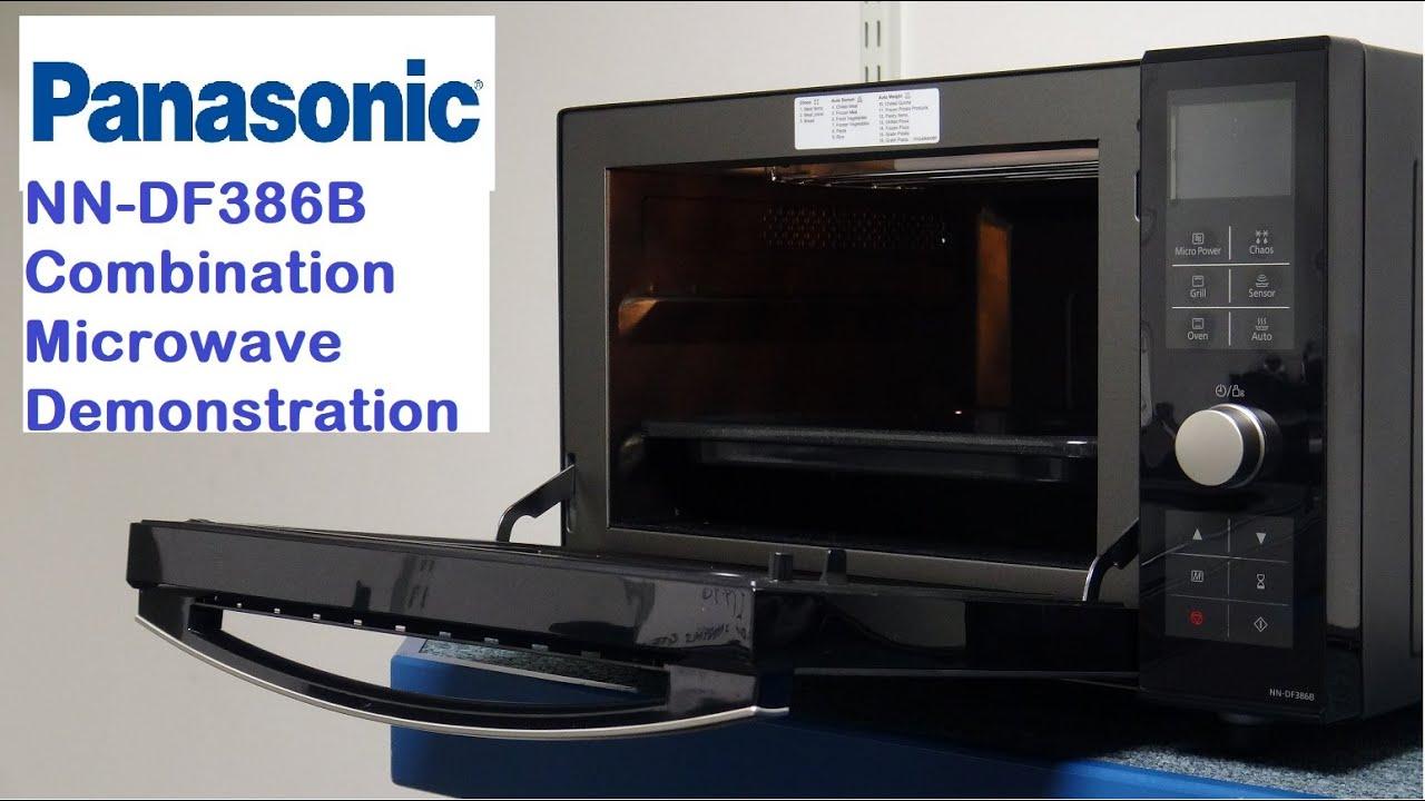 panasonic nn df386b combination microwave demonstration