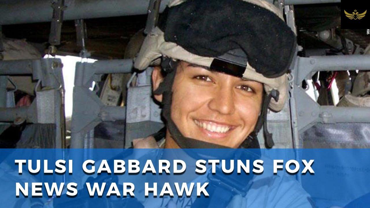 Tulsi Gabbard stuns Fox News war hawk, 'Saudis are a bigger threat than Iran'