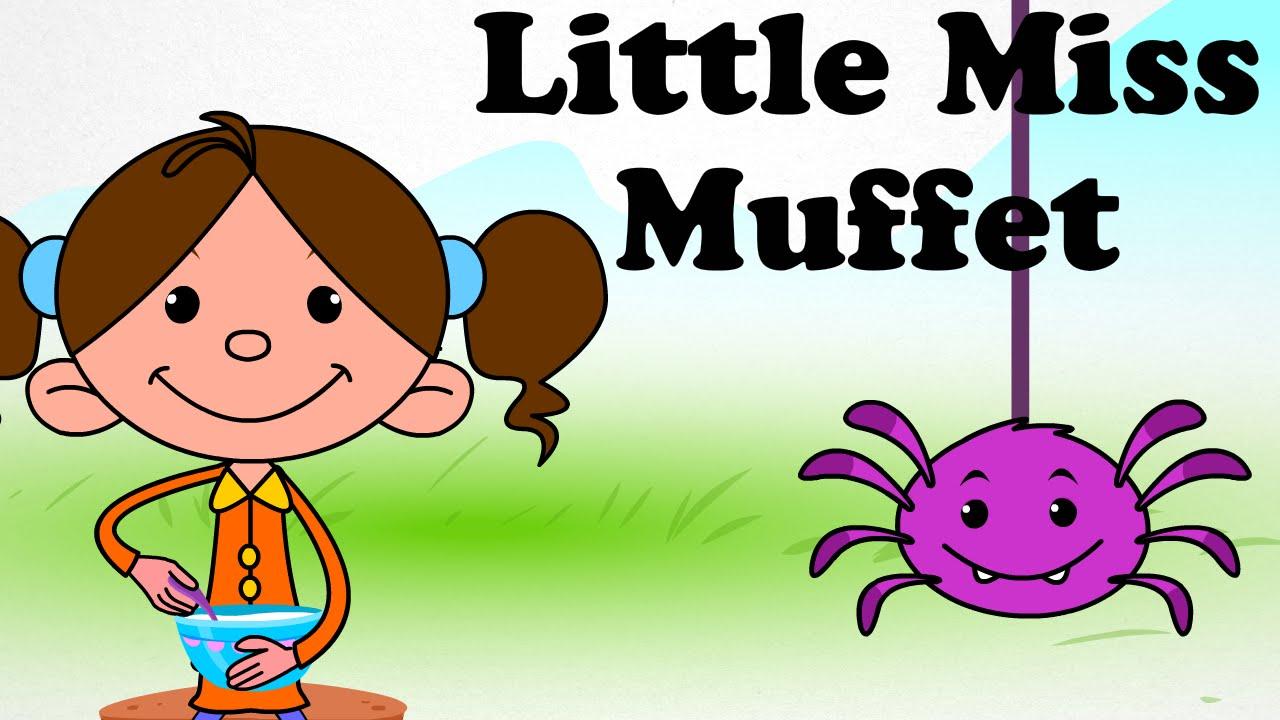 Uncategorized Cartoon Little Kids little miss muffet cartoon kids english nursery rhymes hd animated songs for children youtube