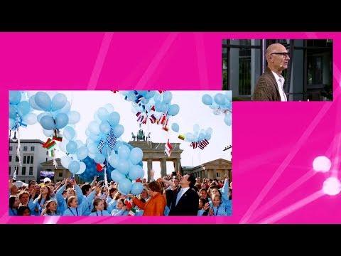 Social Media Post: Tim Höttges: Europa hat die Wahl