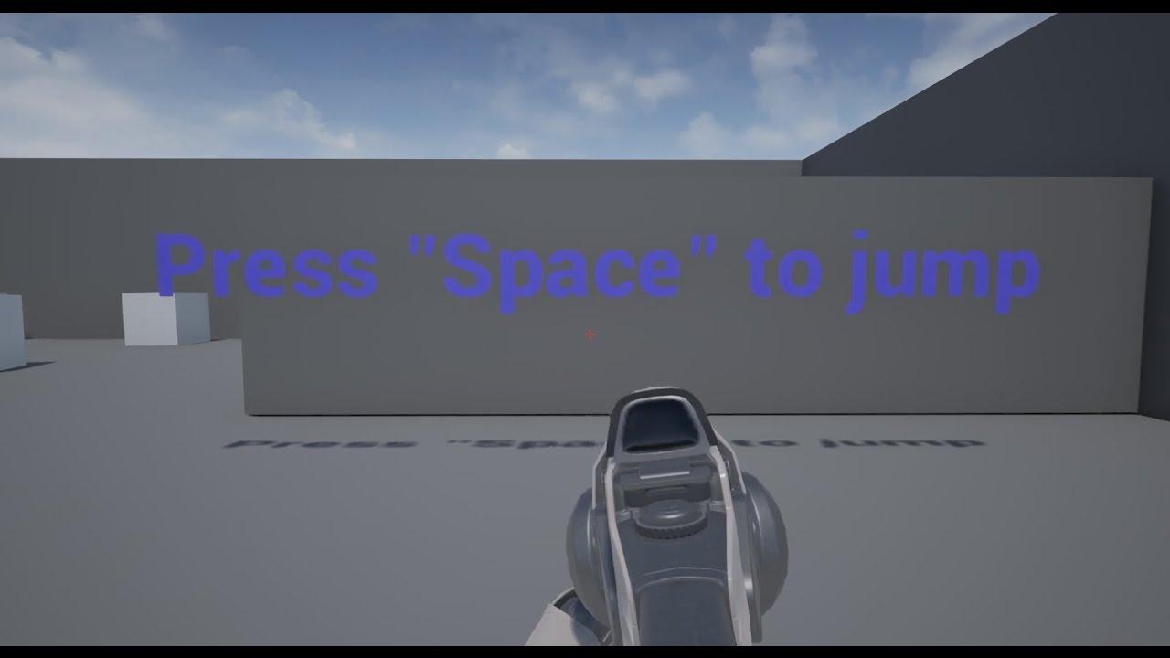 Unreal Engine 4 - Text Render