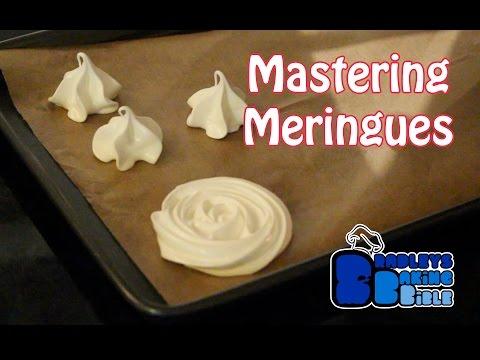 Mastering French, Swiss & Italian Meringues   Bradley's Baking Basics