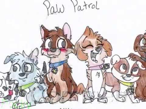 Paw Patrol Fan Art Youtube