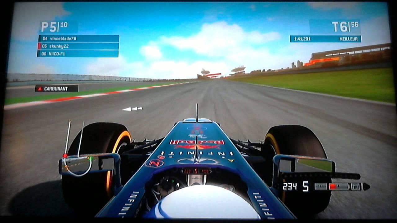 Resume Gp Shangai F1 Ps3 Racing Team Youtube
