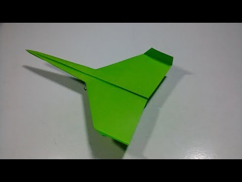 How To Make Paper Airplanes That Fly - Easy Paper Plane - Paper Crafts