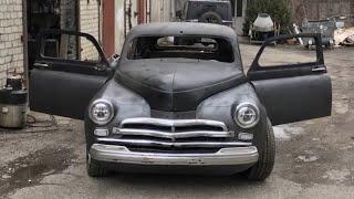 Да си купиш ГАЗ М-20 Победа от 1957 година и да я превърнеш в истински звяр! Победа V8 КУПЕ