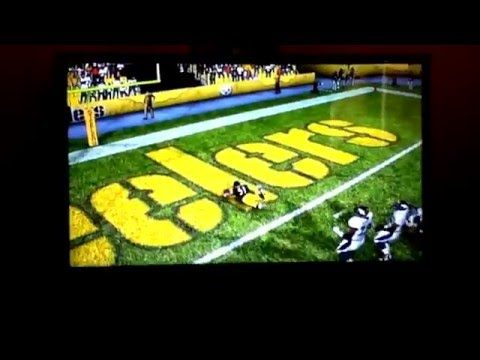 Amazing Interception By James Farrior for a Touchdown